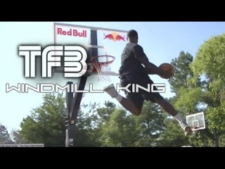 """TFB::Dunks::College Dunk Champion Doug Anderson is the WINDMILL KING! 50"""" VERTICAL LEAP!"""