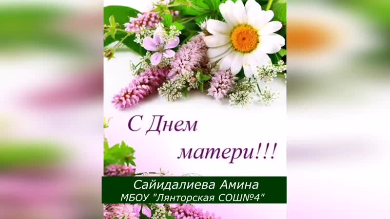 Лянтор СОШ №4 Сайидалиева Амина 1 mp4