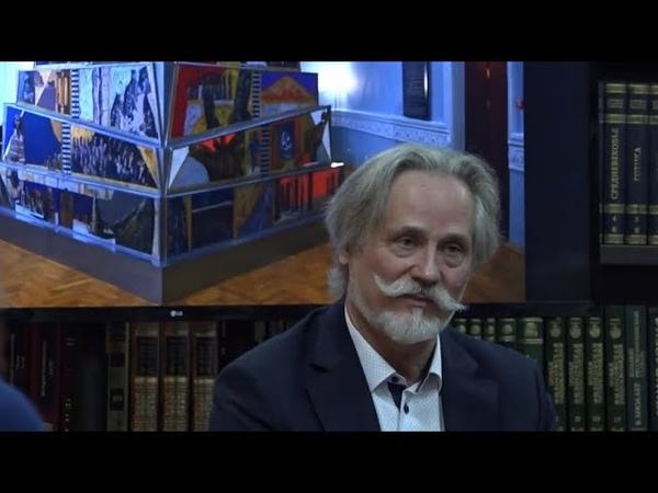 Вавилонская башня Выставка Виктора Альшевского открылась в Президентской библиотеке
