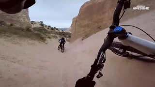 INSANE Downhill Mountain Bike POV Speed Runs | People Are Awesome