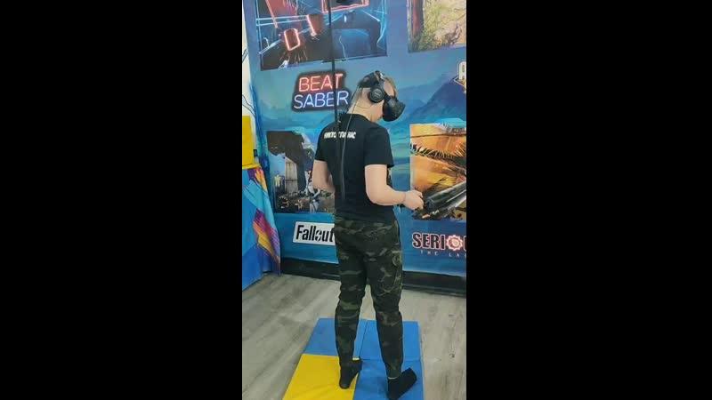 Игры на двоих в клубе виртуальной реальности Глубина Рязань