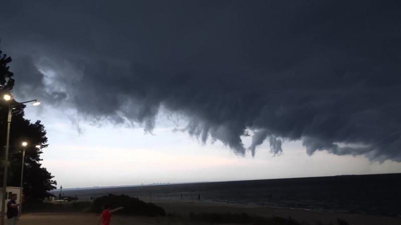 Буря на Финском заливе