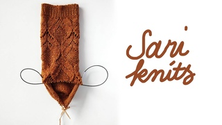 Sari knits S3E5: Poet socks and the Giveaway Winner
