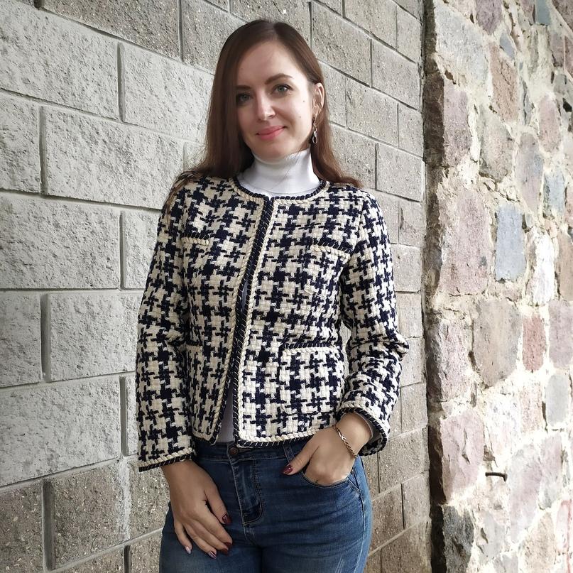 Стильный твидовый пиджак отличного качества!!!