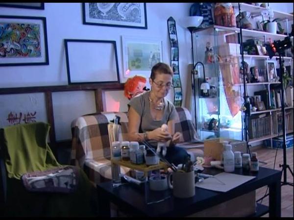 Автограф о художнике кукольнике Е Оскотской