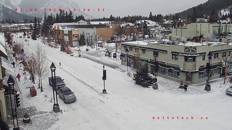 Banff Live Cam Alberta Canada
