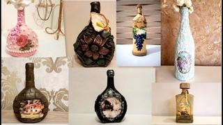 7 glass bottle ideas / Diy recycled glass bottles