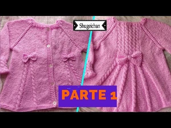 Sweater Vestidito Talla 1 a 2 años PARTE 1