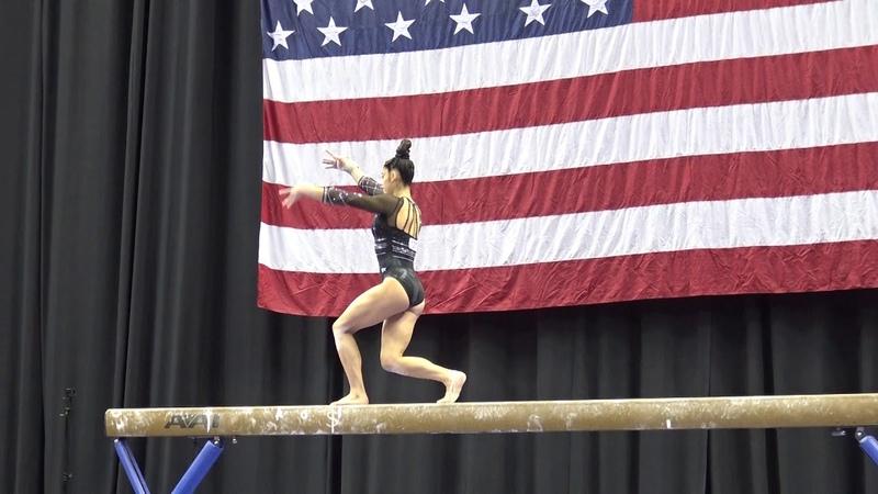 Kayla DiCello - Balance Beam - 2019 U.S. Gymnastics Championships - Junior Women Day 1
