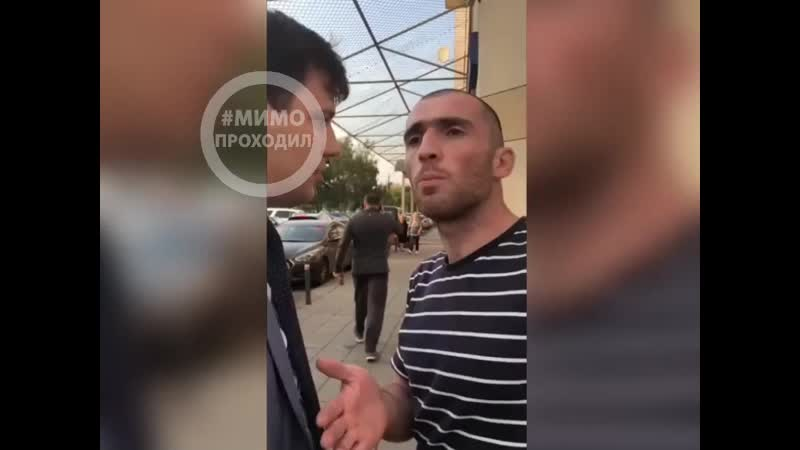 Конфликт таксиста и девушки водителя. Москва 11.09.19 (720p).mp4