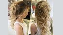 Как сделать греческую косу из локонов назад Урок по свадебным прическам от стилиста Элен Мартиросян