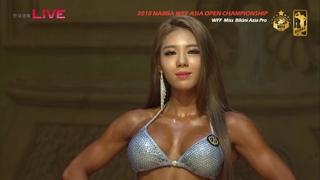 나바 아시아 오픈 챔피언십 2018 미스 비키니 NABBA WFF ASIA OPEN CHAMPIONSHIP 2018-Miss Bikini Asia Pro_1