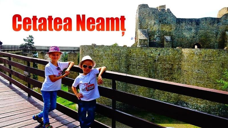 Cetatea Neamtului din Targu Neamt Cetati medievale din Moldova 2018
