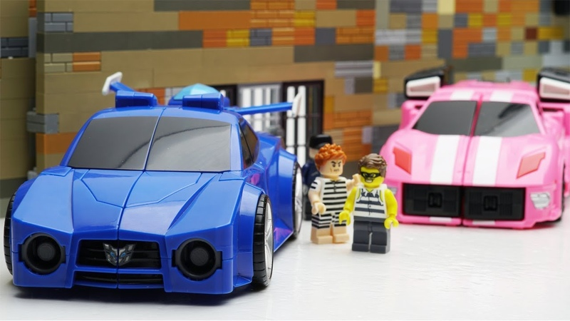 Miniforce Transformers Robot Animation Slime Toys Lego Prison Break ATM Fail BobToysreview
