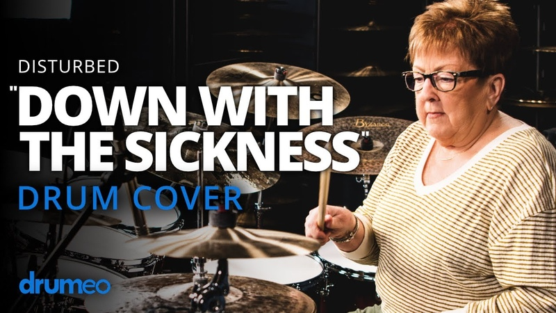 """The Godmother Of Drumming Plays Down With The Sickness"""""""