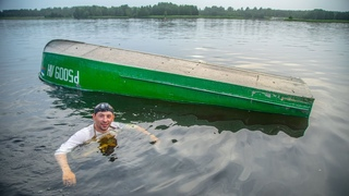 Утопили КАЗАНКУ! Краш-тест средств спасения на воде! Когда рыбалка в стиле Снасти Здрасьте!