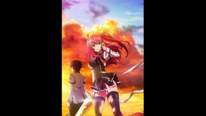 1 12 Серия Доблесть рыцаря неудачника Rakudai Kishi no Cavalry