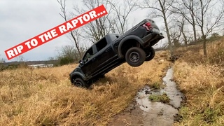 I BUILT A JUMP FOR MY NEW 2020 FORD RAPTOR... *HORRIBLE IDEA*