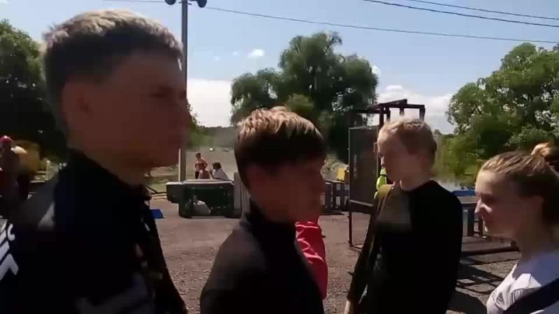 Городские соревнования юных спасателей. ЧС техногенного характера
