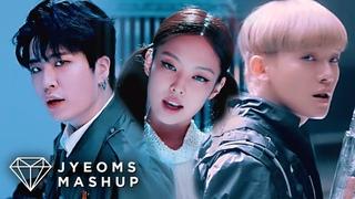 GOT7, EXO, BLACKPINK - CRASH & BURN / LOVE SHOT / KILL THIS LOVE (MASHUP)