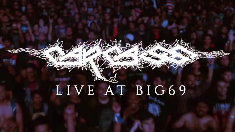 Carcass This Mortal Coil Reek of Putrefaction GearHouse LIVE @ BIG69 1080p