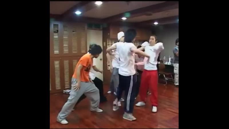 Старое видео с BIGBANG в инстаграме тренера Хванссабу hwangssabuda
