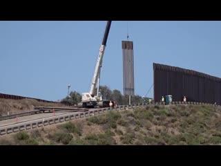 Ось що треба будувати на кордоні з рф . Навічно! США, кордон з Мексикою. .