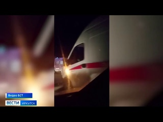Шесть человек пострадали сегодня при столкновении маршрутки с грузовиком в Братске