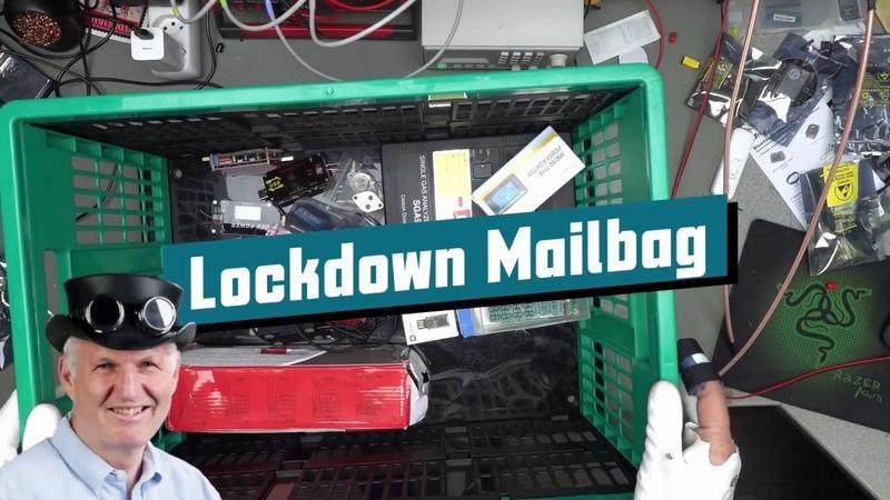 Lockdown Mailbag (Portable Power supplies, NRF52840, Strong servos, LED Signal tower, Ailunce DMR)