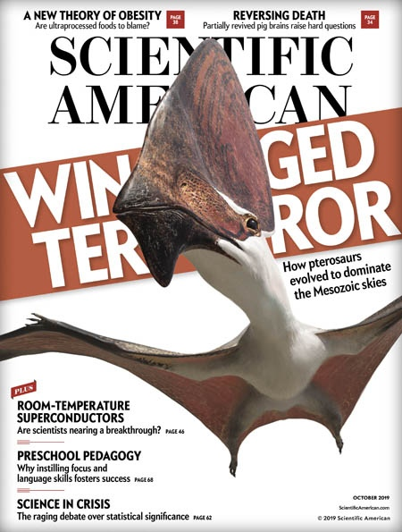 Scientific American 10 2019