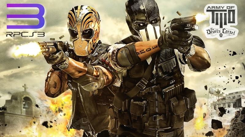 Army of Two: The Devil s Cartel with MLAA Patch RPCS3 RTX3080 PS3 PC Emulation