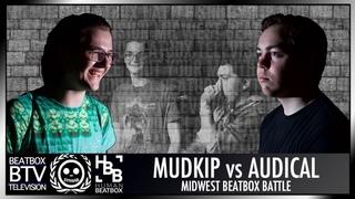 AUDICAL vs Mudkip / Semifinals - Midwest Beatbox Battle 2018