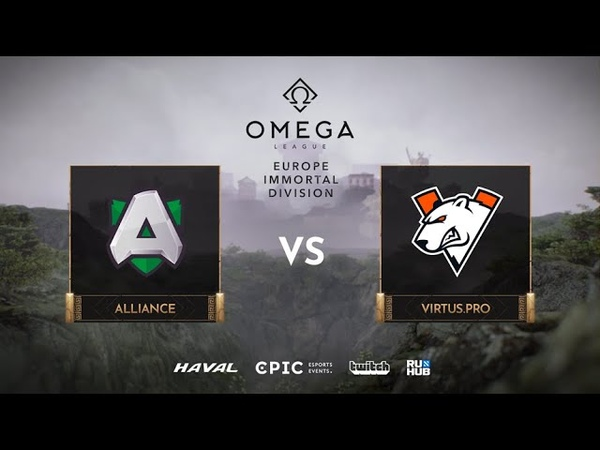 Alliance vs Game 2 Group A OMEGA League Immortal Division 2020