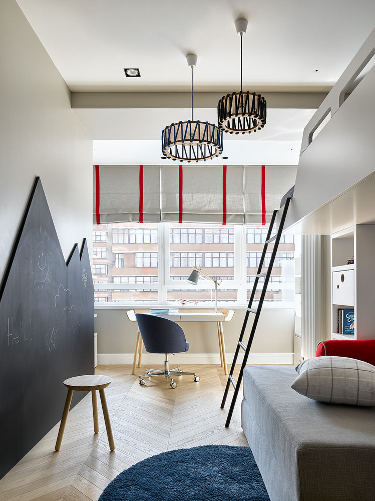 Apartment in Novopeschanaya / Aiya Design || 02
