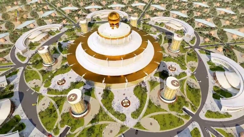 Город Света Проект Рай Технологии Будущего в Гармонии с природой Новое время Золотая Эра