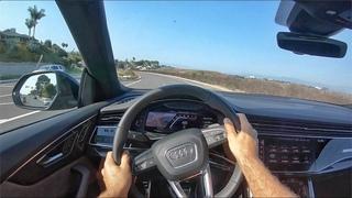 2020 Audi SQ8 Premium Plus V8 POV Test Drive (3D Audio)(ASMR)