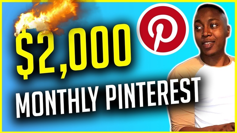 How to make $2000 a month with Pinterest [Free Method]