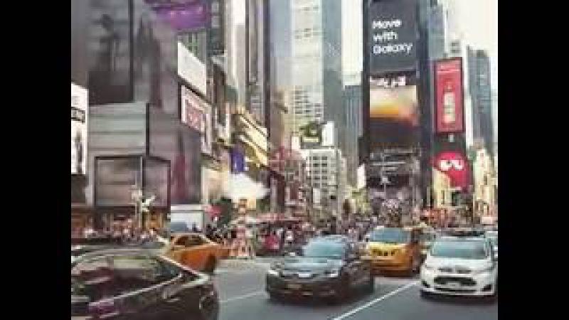 Times Square New York usa Couture Fashion Week New York 26th season