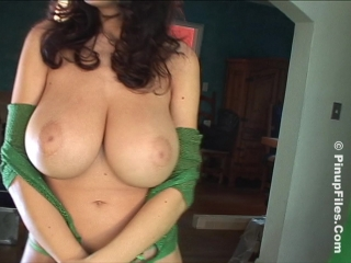 Jana Defi - St. Patricks Day  [Erotic,Big natural tits,Boobs,Brunettes]