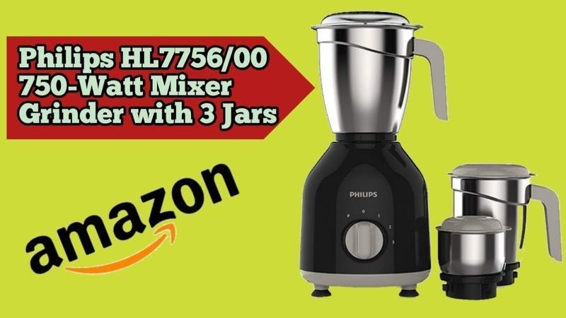 Philips HL775600 750-Watt Mixer Grinder with 3 Jars🔥🔥🔥