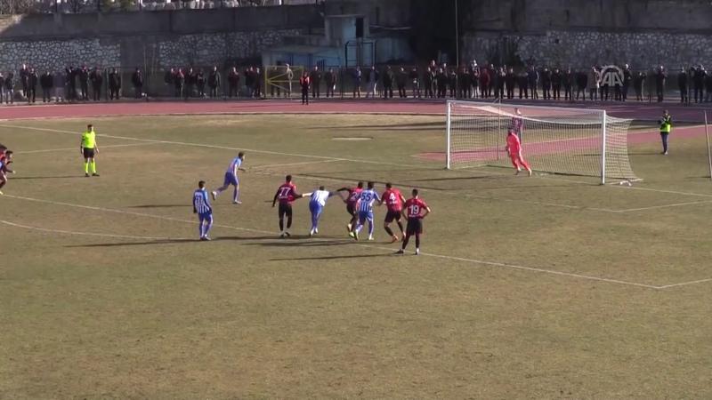 Üç kez tekrarlanan penaltıda gole izin vermedi I Uşakspor ile Ergene Velimeşespor maç özeti
