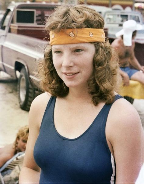 Юные американки. 1980-е.СШАПляж Техаса