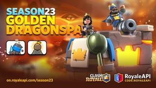 Clash Royale Season 23 Golden Dragon Spa - Emotes, Tower Skins, Arenas - RoyaleAPI