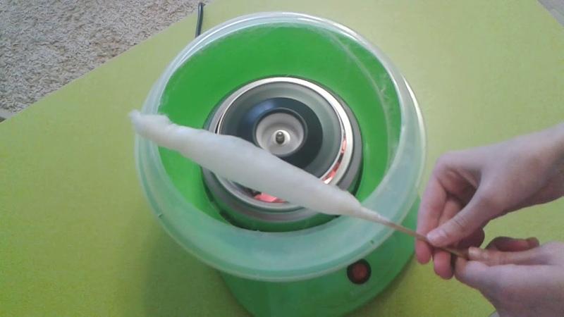 Аппарат для сахарной ваты HomeClab от УНЯША прокатуняша прокаткоролев сахарнаявата аппарат машина прибор домашнийаппарат