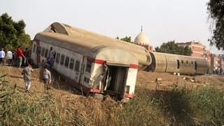 Страшное крушение поезда в Египте. Погибли 11 человек
