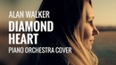Alan Walker - Diamond Heart (feat. Sophia Somajo) - Piano Orchestra Cover