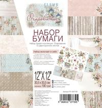Набор бумаги Очарование 30,5х30,5, 12 двусторонних листов FD1007730 320 р