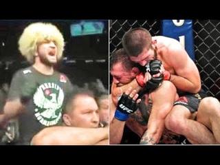Ночь расплаты - дикие эмоции угловых Хабиба и Конора на UFC 229