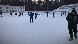 Переломный гол центрального матча 11 тура ПМФЛ 7х7 2018/19