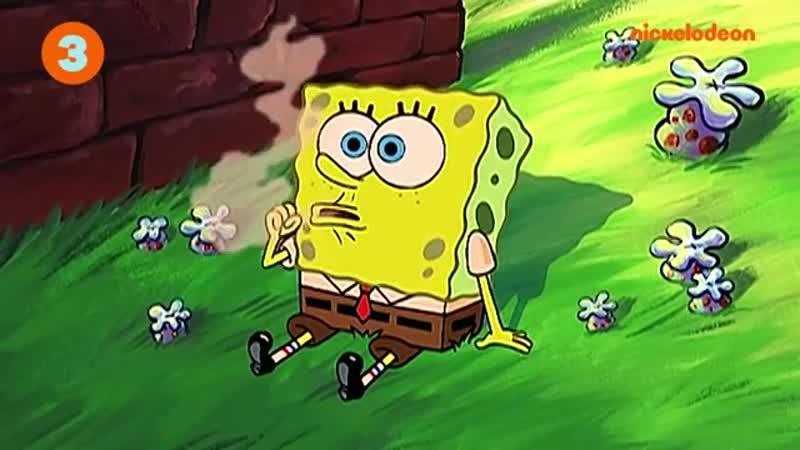 Губка Боб Квадратные Штаны Самые грустные моменты со Сквидвардом Nickelodeon